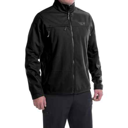 Mountain Hardwear Mountain Tech II Jacket - AirShield Fleece (For Men) in Black - Closeouts