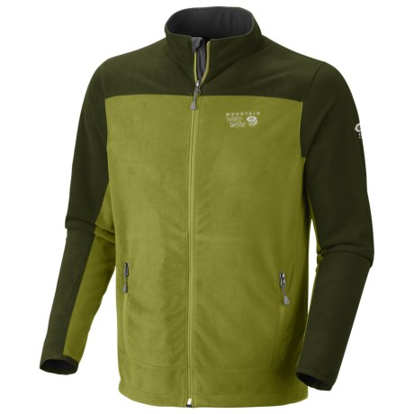 Mountain Hardwear Nansen Jacket - Fleece (For Men) in Elm/Duffel