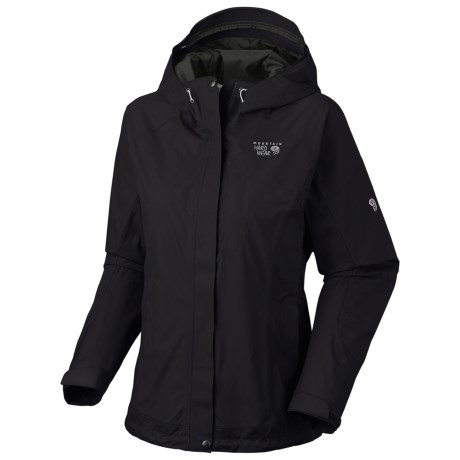 Mountain Hardwear Nazca Dry.Q Elite Jacket - Waterproof (For Women) in Black/Black