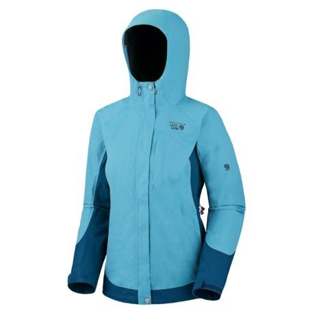 Mountain Hardwear Nazca Dry.Q® Elite Jacket - Waterproof (For Women) in Black/Black