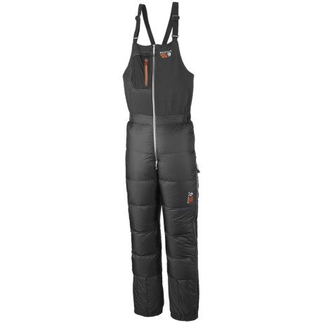 Mountain Hardwear Nilas Down Bib Pants - 850 Fill Power (For Men) in Shark