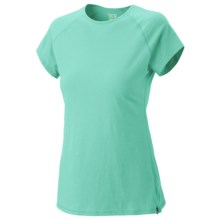 Mountain Hardwear Nimba T-Shirt - Short Sleeve (For Women) in Chipper - Closeouts