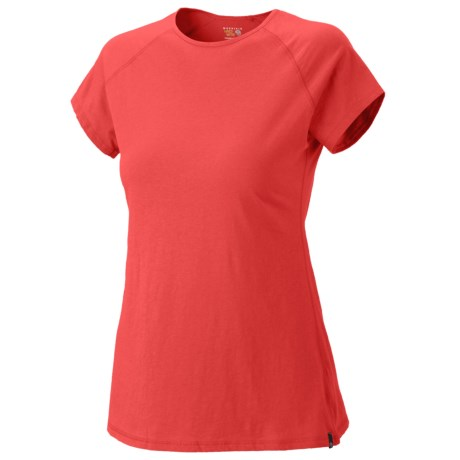 Mountain Hardwear Nimba T-Shirt - Short Sleeve (For Women) in Chipper