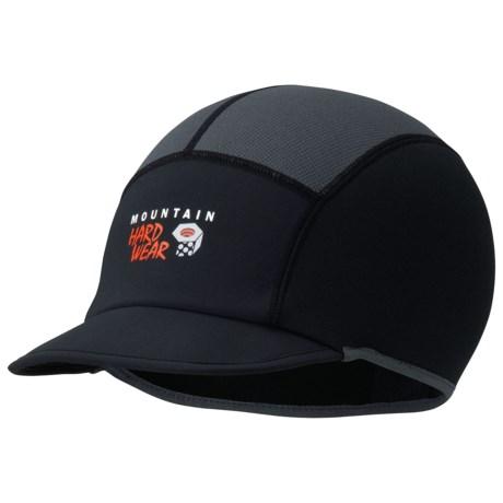 Mountain Hardwear Nisu Brim Beanie Hat (For Men and Women) in Black