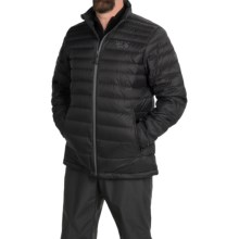 Mountain Hardwear Nitrous Down Jacket - 700 Fill Power (For Men) in Black/Graphite - Closeouts