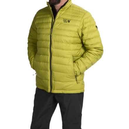 Mountain Hardwear Nitrous Down Jacket - 700 Fill Power (For Men) in Python Green/Greenscape - Closeouts