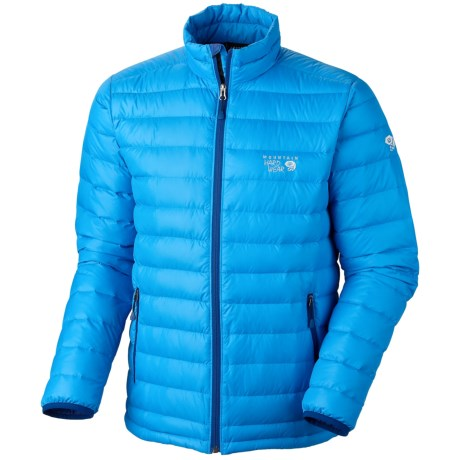 Mountain Hardwear Nitrous Down Jacket - 800 Fill Power (For Men) in Static Blue