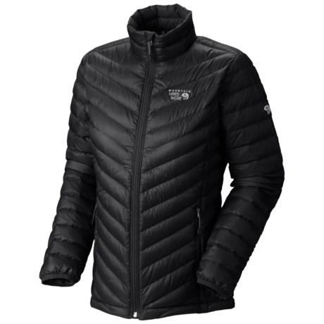 Mountain Hardwear Nitrous Down Jacket - 800 Fill Power (For Women) in Black