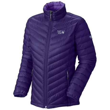 Mountain Hardwear Nitrous Down Jacket - 800 Fill Power (For Women) in Night Purple