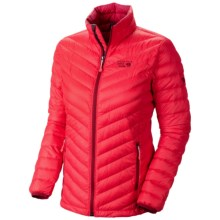 Mountain Hardwear Nitrous Down Jacket - 800 Fill Power (For Women) in Red Hibiscus - Closeouts