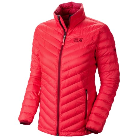 Mountain Hardwear Nitrous Down Jacket - 800 Fill Power (For Women) in Red Hibiscus