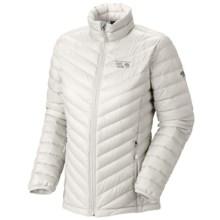 Mountain Hardwear Nitrous Down Jacket - 800 Fill Power (For Women) in Sea Salt - Closeouts