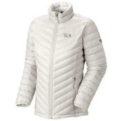 Mountain Hardwear Nitrous Down Jacket - 800 Fill Power (For Women) in Sea Salt