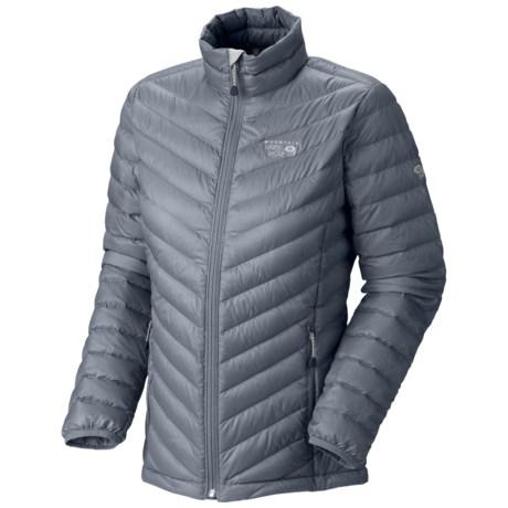 Mountain Hardwear Nitrous Down Jacket - 800 Fill Power (For Women) in Tradewinds Grey