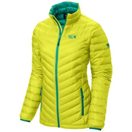 Mountain Hardwear Nitrous Down Jacket - 800 Fill Power (For Women) in Zour/Mayan Green