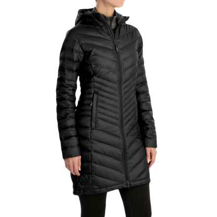Mountain Hardwear Nitrous Hooded Down Parka - 800 Fill Power (For Women) in Black - Closeouts