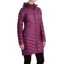 Mountain Hardwear Nitrous Hooded Down Parka - 800 Fill Power (For Women) in Dark Raspberry - Closeouts
