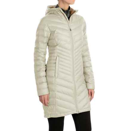 Mountain Hardwear Nitrous Hooded Down Parka - 800 Fill Power (For Women) in Stone - Closeouts