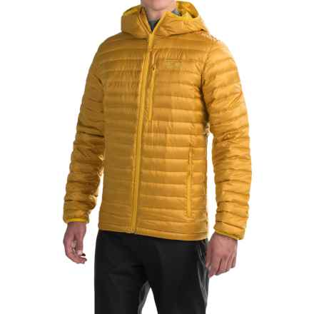 Mountain Hardwear Nitrous Hooded Q.Shield® Down Jacket - 800 Fill Power (For Men) in Inca Gold - Closeouts