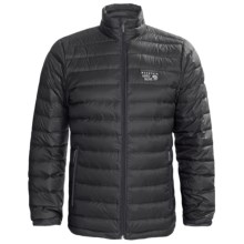 Mountain Hardwear Nitrous Q.Shield® Down Jacket - 800 Fill Power (For Men) in Black - Closeouts