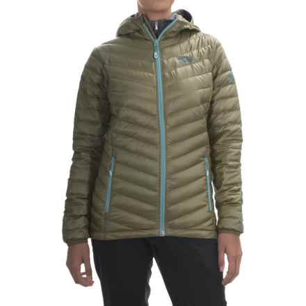 Mountain Hardwear Nitrous Q.Shield® Down Jacket - 800 Fill Power (For Women) in Stone Green - Closeouts