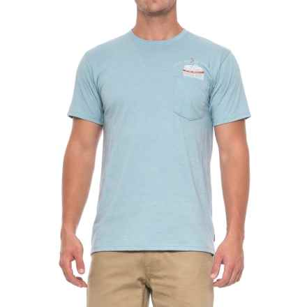 Mountain Hardwear No Can Left Behind T-Shirt - Short Sleeve (For Men) in Heather Grey Goose - Closeouts