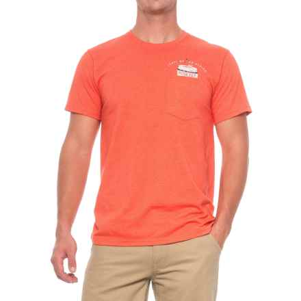 Mountain Hardwear No Can Left Behind T-Shirt - Short Sleeve (For Men) in Heather State Orange - Closeouts