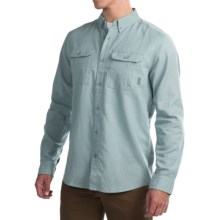 Mountain Hardwear Nowlin Shirt - Long Sleeve (For Men) in Ice Shadow - Closeouts
