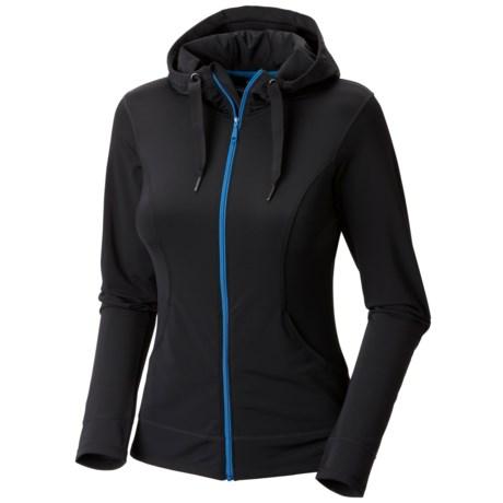 Mountain Hardwear Nulana Hoodie Jacket - UPF 50+ (For Women) in Black