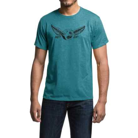 Mountain Hardwear Nut Up Shirt - Short Sleeve (For Men) in Heather Cloudburst - Closeouts
