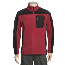 Mountain Hardwear Octans Fleece Jacket (For Men) in Thunderbird Red - Closeouts