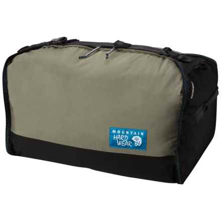 Mountain Hardwear OutDry® 50L Duffel Bag - Small in Stone Green - Closeouts