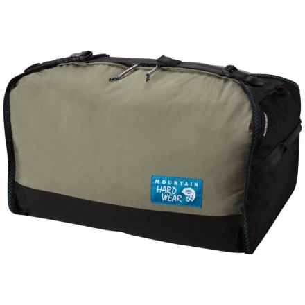 Mountain Hardwear OutDry® 95L Duffel Bag - Large in Stone Green - Closeouts