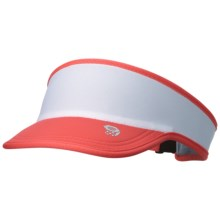 Mountain Hardwear Pacer Running Visor - Cool.Q ZERO (For Men and Women) in Wild Melon - Closeouts