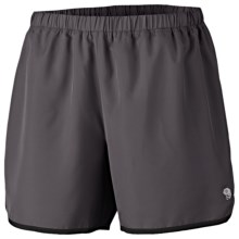 Mountain Hardwear Pacing Shorts - UPF 30 (For Women) in Shark - Closeouts