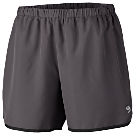 Mountain Hardwear Pacing Shorts - UPF 30 (For Women) in Deep Blush