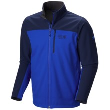 Mountain Hardwear Paladin Jacket - Soft Shell (For Men) in Azul/Collegiate Navy - Closeouts