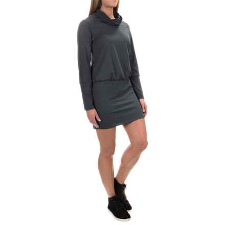 Mountain Hardwear Pandra Better Butter Dress - UPF 50, Long Sleeve (For Women) in Black - Closeouts