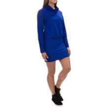 Mountain Hardwear Pandra Better Butter Dress - UPF 50, Long Sleeve (For Women) in Dynasty - Closeouts