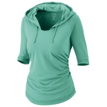 Mountain Hardwear Pandra Hoody - Elbow Sleeve (For Women) in Chipper - Closeouts