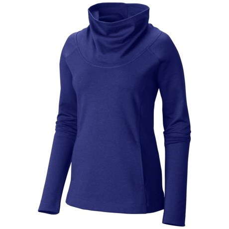 Mountain Hardwear Pandra Ponte Shirt UPF 50+, Cowl Neck, Long Sleeve (For Women)