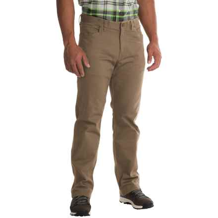 Mountain Hardwear Passenger Pants - UPF 50, Stretch Cotton Twill (For Men) in Dark Khaki - Closeouts