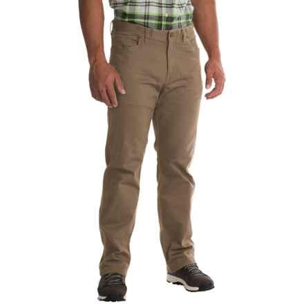 Mountain Hardwear Passenger Pants - UPF 50, Stretch Cotton Twill (For Men) in Dark Khaki - Closeouts