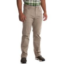 Mountain Hardwear Passenger Pants - UPF 50, Stretch Cotton Twill (For Men) in Khaki - Closeouts