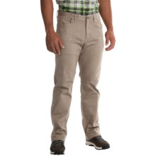 Mountain Hardwear Passenger Pants - UPF 50, Stretch Cotton Twill (For Men) in Khaki - Closeouts