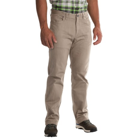 Mountain Hardwear Passenger Pants UPF 50, Stretch Cotton Twill (For Men)