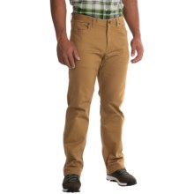 Mountain Hardwear Passenger Pants - UPF 50, Stretch Cotton Twill (For Men) in Maple - Closeouts