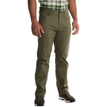 Mountain Hardwear Passenger Pants - UPF 50, Stretch Cotton Twill (For Men) in Peatmoss - Closeouts