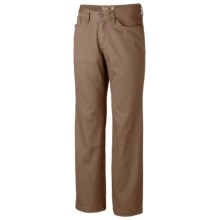 Mountain Hardwear Passenger Pants - UPF 50, Stretch Cotton Twill (For Men) in Saddle - Closeouts