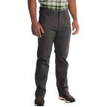 Mountain Hardwear Passenger Pants - UPF 50, Stretch Cotton Twill (For Men) in Shark - Closeouts